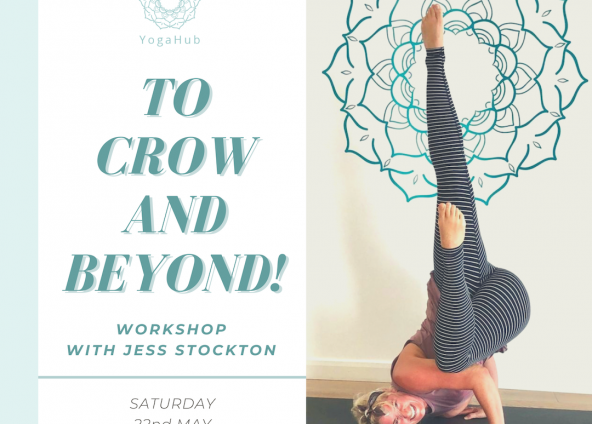 To Crow and Beyond! with Jess Stockton Sat 22nd May 14:00-16:00