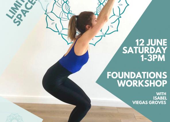 Foundation Workshop with Isabel Groves Sat 12th June 13:00-15:00