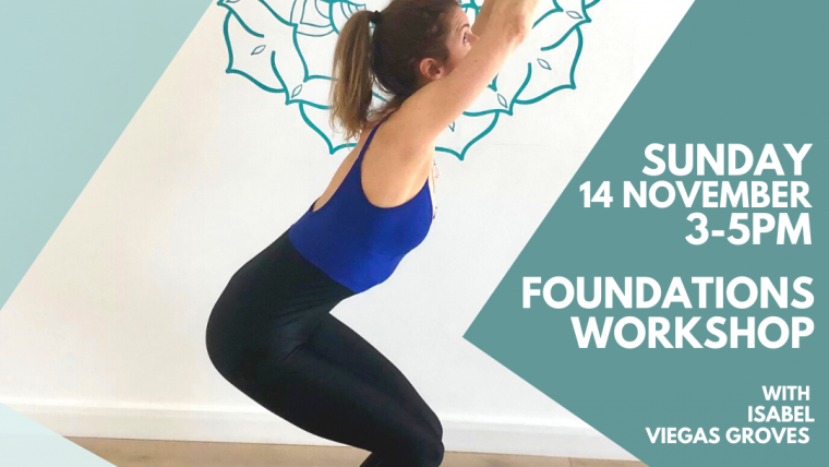 Foundations Workshop with Isabel Groves Sun 14th Nov 15:00-17:00